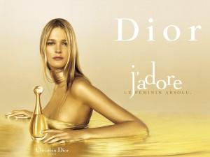 Postal: J'adore de Christian Dior
