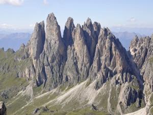 El Grupo Geisler en las Dolomitas