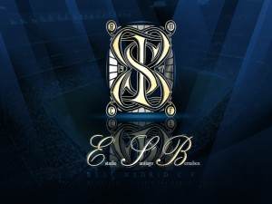 Postal: Insignia del Estadio Santiago Bernabeu