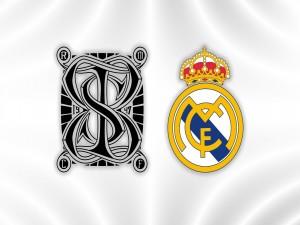 Insignia del Estadio Santiago Bernabeu y Escudo del Real Madrid
