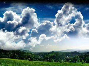 Bajo las nubes