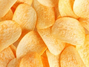 Postal: Chips de patata