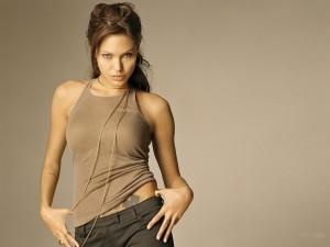 Postal: Guapa Angelina Jolie