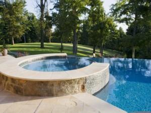 Una preciosa piscina