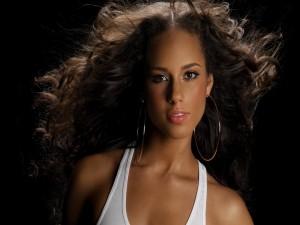 Postal: La cantante Alicia Keys
