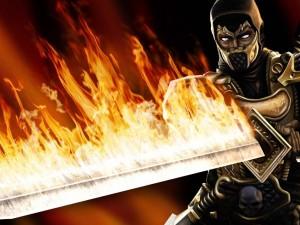 Postal: Mortal Kombat, Scorpion