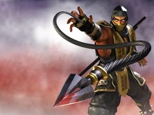 Postal: Un personaje de Mortal Kombat