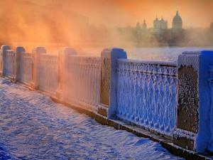 Postal: Tarde de nieve