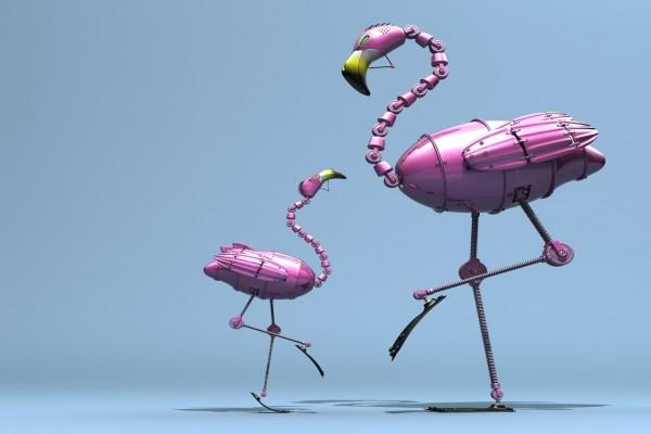 Flamencos robot