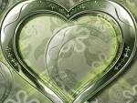 Corazón plateado