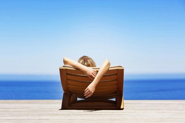 Relax contemplando el mar
