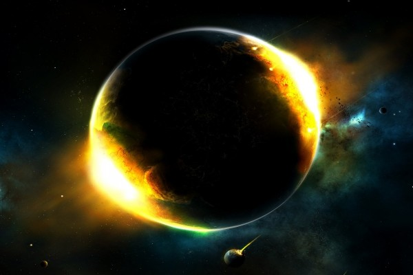 Planeta incandescente