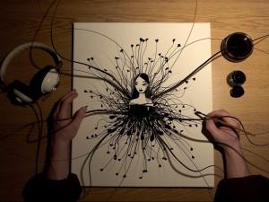 El dibujo cobra vida