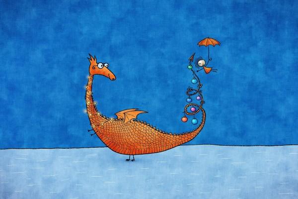 Alicia y su dragón