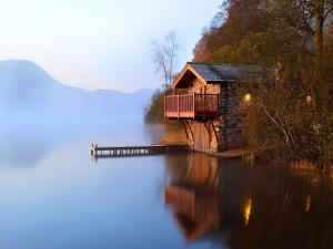 La cabaña del lago