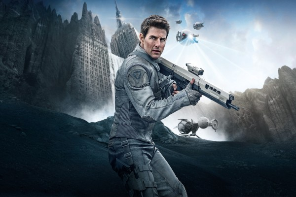 """Tom Cruise en la película """"Oblivion"""""""