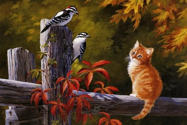 Amigos de otoño