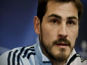Un primer plano de Iker Casillas