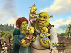 Sherk y su familia