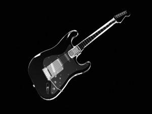 Postal: Guitarra eléctrica