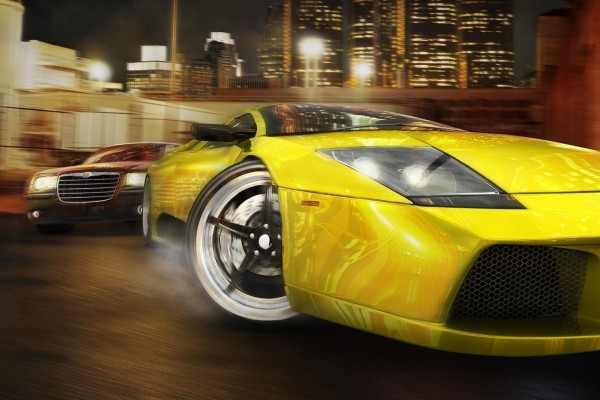 "Carrera de coches en ""Midnight Club"""