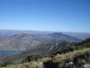 Vista de Olvera desde el Cerro Coros (Puerto de las Palomas)