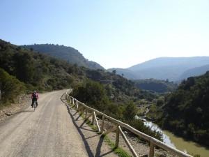 Vía Verde junto al río Guadalete