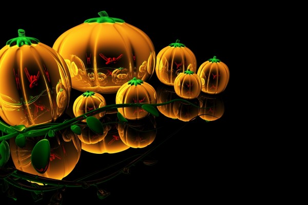 Calabazas para la noche de Halloween