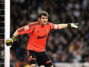 Iker Casillas en un partido