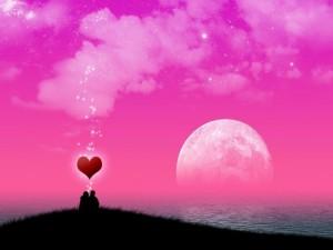 Postal: Noche de amor