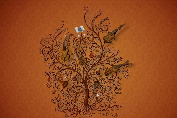 Árbol de instrumentos musicales