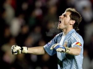 Postal: Grito de Iker Casillas
