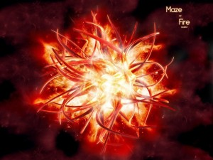 Maze of fire (Laberinto de fuego)