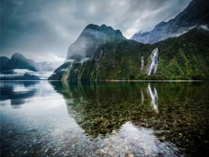 Increíble paisaje de Nueva Zelanda