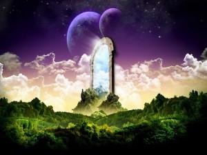Puerta a otros mundos paralelos