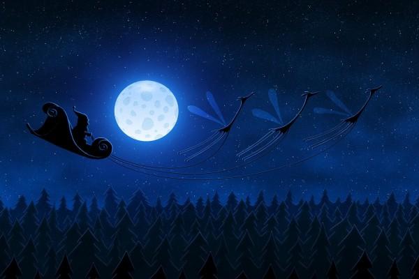 Un trineo de Santa muy especial