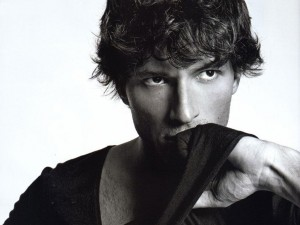 Postal: Andrés Velencoso, modelo