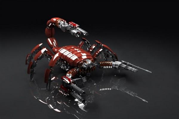 Robot escorpión