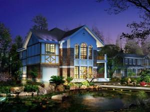 Postal: Casa 3D