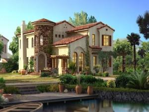 Una bonita casa