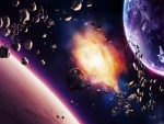 Lluvia de asteroides