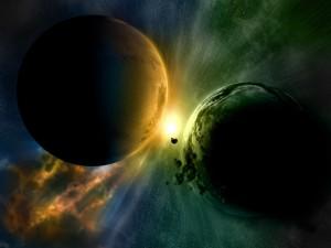 Colisión planetaria inminente