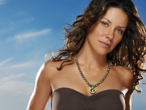 La actriz canadiense Evangeline Lilly