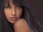 Retrato de Adriana Lima