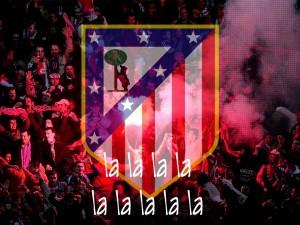 La afición del Atlético de Madrid