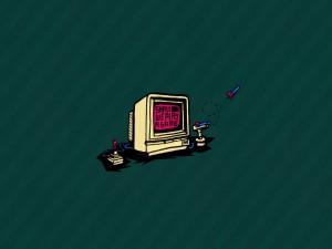 Antiguo ordenador para juegos