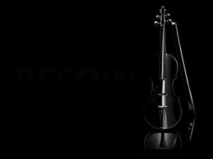 Violín negro