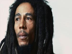 Bob Marley pensativo