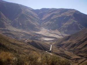Postal: Parque Nacional Los Cardones, Salta, Argentina