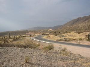 Postal: Ruta provincial 33, camino a Cachi (Salta, Argentina)